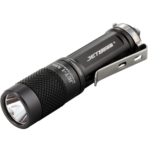 Niteye JBJET-1MK 1MK Mini Flashlight Black 480 Lumens New