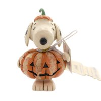 Jim Shore SNOOPY AS A PUMPKIN MINI Polyresin Peanuts 6002777