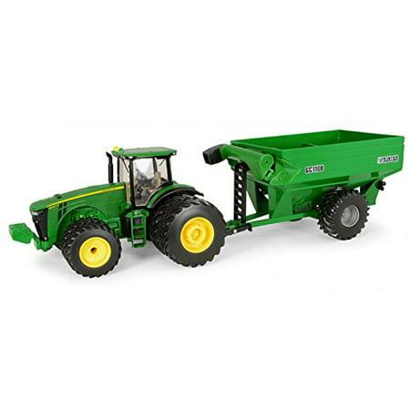 John Deere Ertl 8260R Tractor with Frontier Grain Cart (1:32 Scale) - LP51303