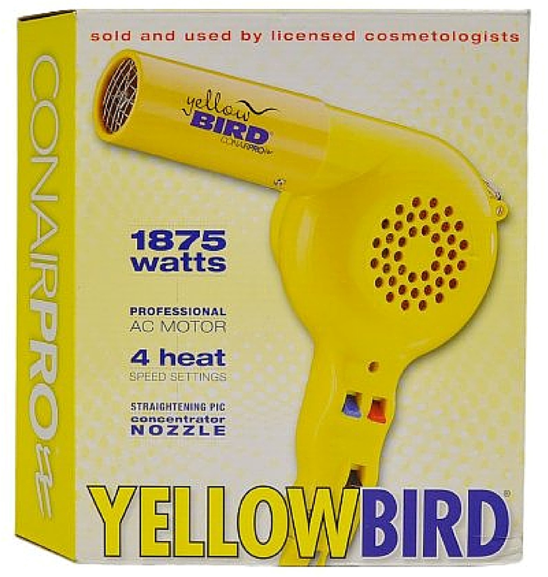 Conair YellowBird, 1875 Watt Hair Dryer