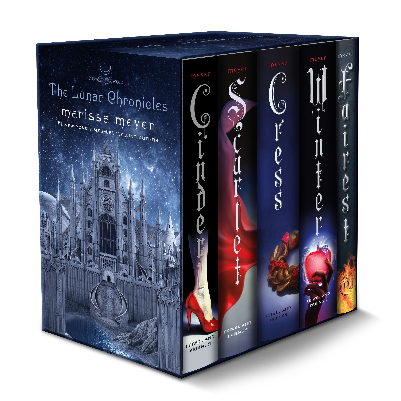 The Lunar Chronicles Boxed Set : Cinder, Scarlet, Cress, Fairest, Winter