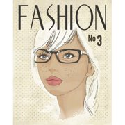 Secretly Designed Fashion Mag Paper Print