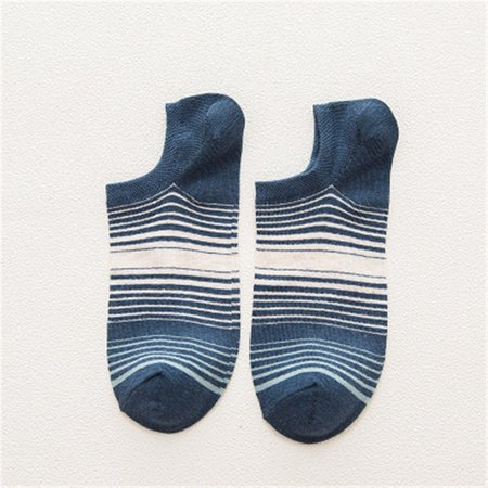 - Outtop Mens Socks Casual Work Business Cotton Stripe Series Fashion Sock Comfortable