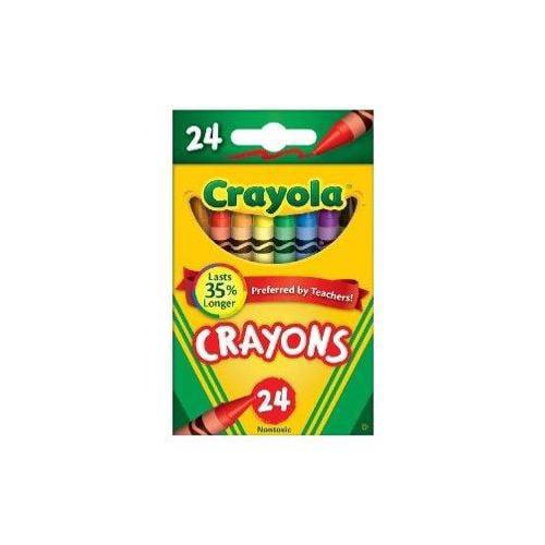 Crayola 24 Ct Crayons Multi-Colored