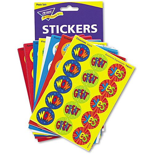 TREND Stinky Stickers Variety Pack, Praise Words, 432pk