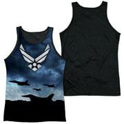 Air Force - Take Off - Black Back Tank Top - Medium