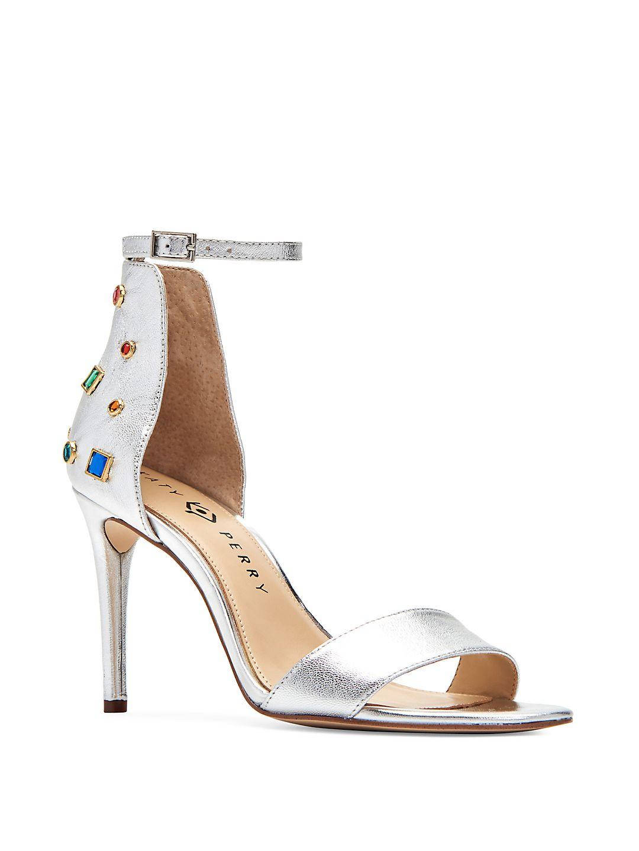 Josephina Embellished Leather Heels