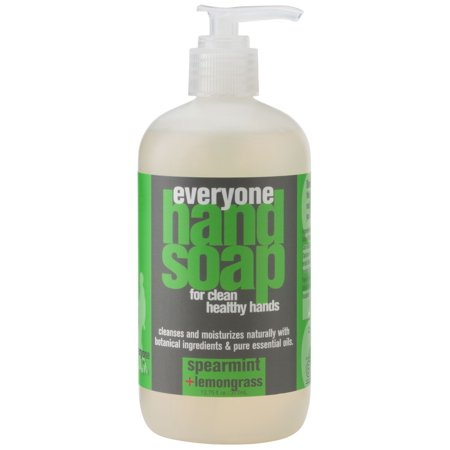 Everyone Spearmint & Lemongrass Hand Soap Gluten-Free Triclosan-Free 12.75 fl. oz. Bottle