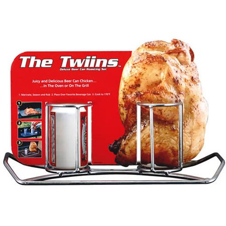 Camp Chef Double Beer Can Chicken Holder