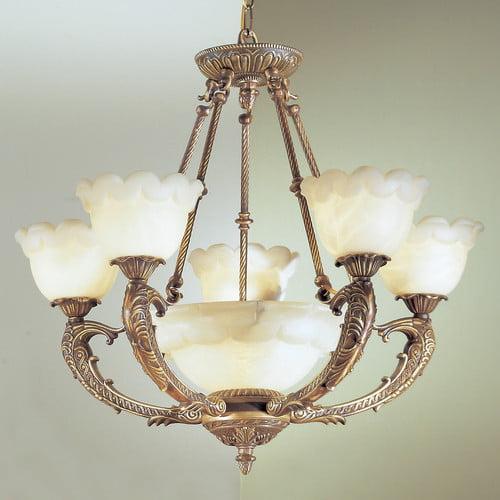 Classic Lighting Victorian I 6 Light Chandelier