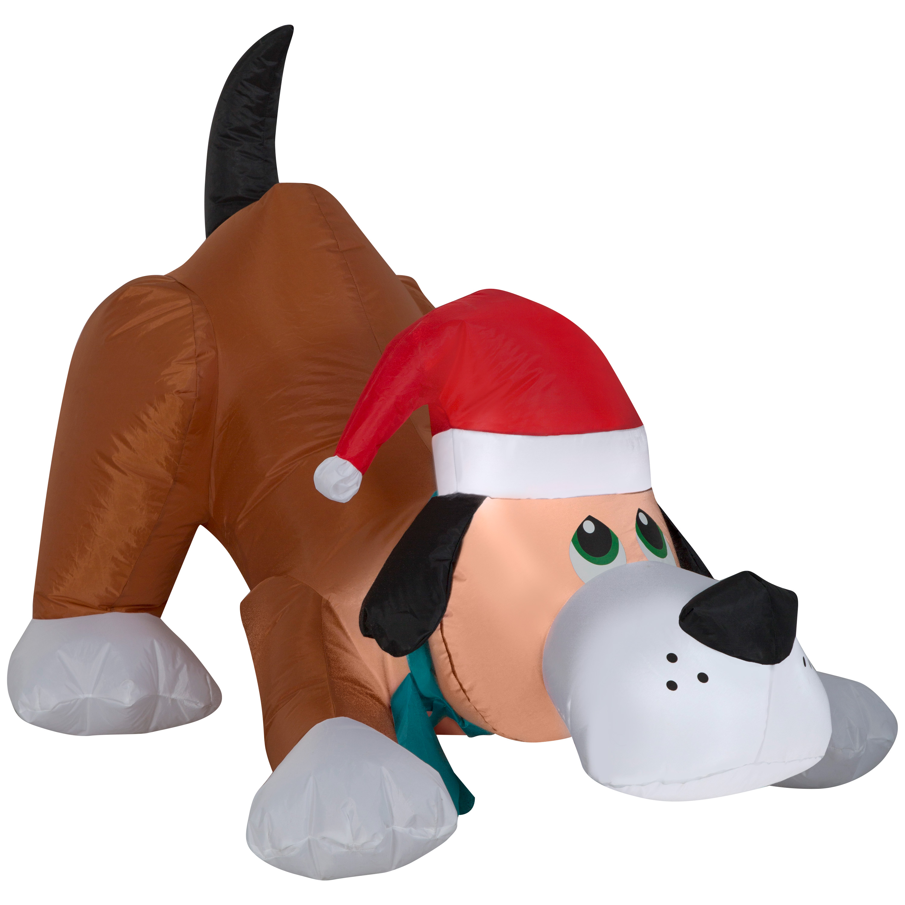 Image of Airblown Christmas Inflatable Playful Puppy 2.5' Tall