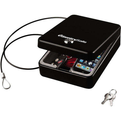 SentrySafe Compact Safe with Key Lock