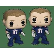 best cheap 69e35 210b8 Funko POP NFL: Patriots- Rob Gronkowski (Color Rush)