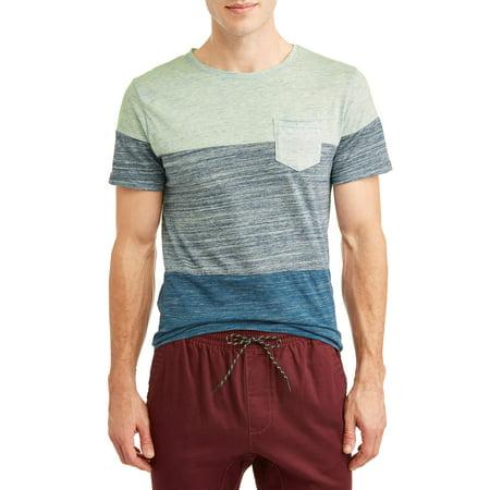 Dvision Men's Chapman Fiji Short Sleeve Stripe Knit T-Shirt