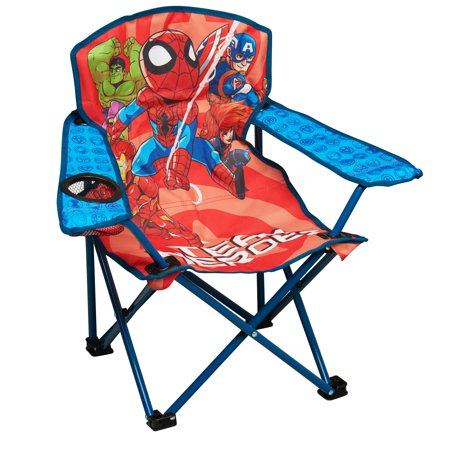 Marvel Super Hero Adventures Team Heroes Kids Folding Camp Chair