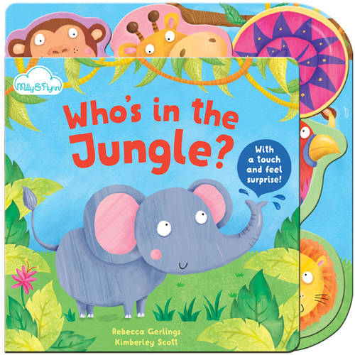 Tabbed Board Books, Who's in the Jungle?