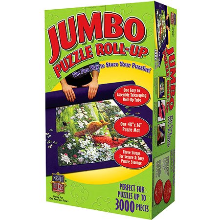 """Jumbo Puzzle Roll-Up-48""""X36"""" For Up To 3000 Pieces"""