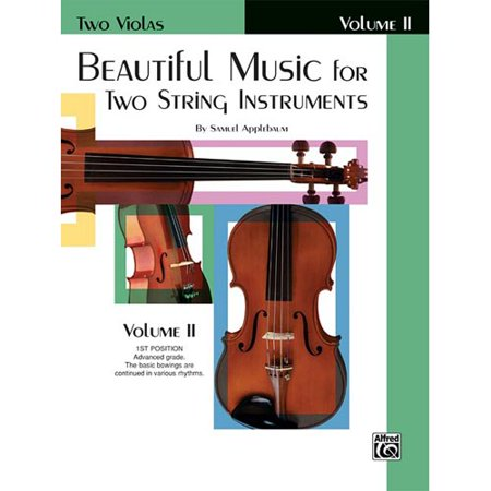 Beautiful Music for Two String Instruments: Two Violas