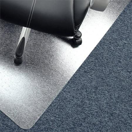 """Advantagemat® Vinyl Rectangular Chair Mat Carpets over 3/4"""" - 48"""" x 60"""""""