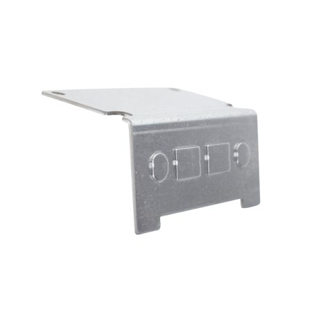 Hubbell Wiring Systems 3SFBTP Steel Recessed 3-Service Concrete Floor Box Voice/Data Face Plate