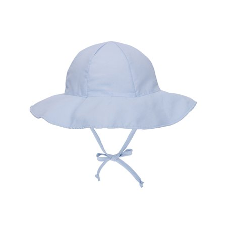UPF 50+ UV Sun Protection Wide Brim Baby Sun (Gingham Baby Hats)