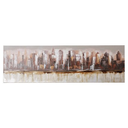 Brayden Studio Metropolis Painting Print On Wrapped Canvas