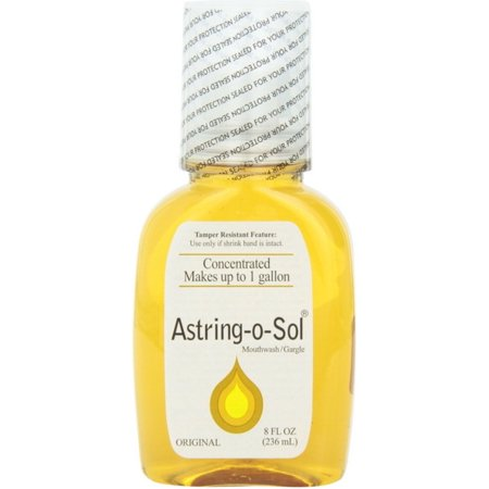 Astring-O-Sol Concentrated Mouthwash/Gargle, Original 8 oz