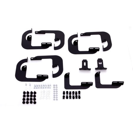 - Lund 15-18 Ford F-150 SuperCrew Tube Step Running Board Mounting Brackets - Black