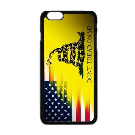 Ganma Case For iPhone Case Dont Tread On Me Best Flag Case For iPhone 7 Plus Black 2 in 1 Heavy