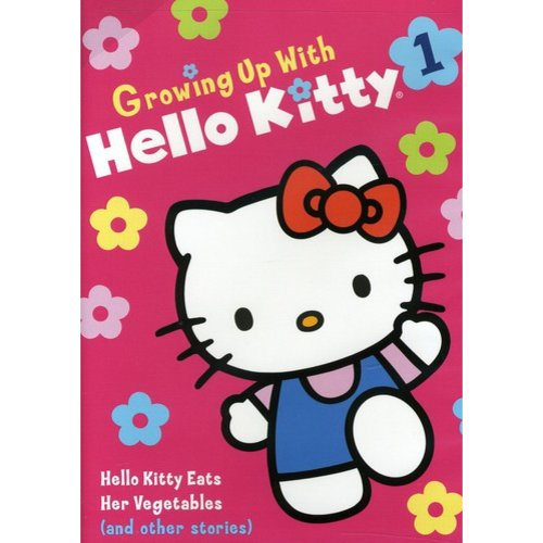Growing Up With Hello Kitty: Hello Kitty Eats Her Vegetables