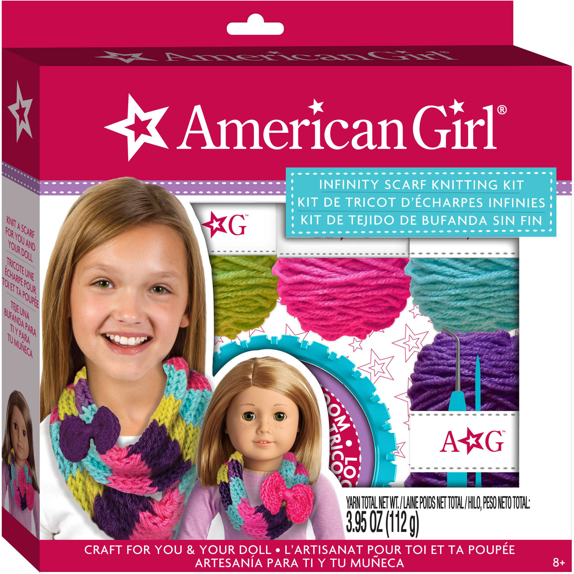 American Girl Infinity Scarf Knitting Kit by Generic