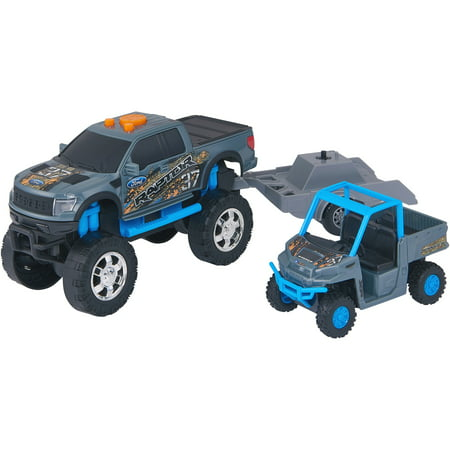 Adventure Force Lights & Sound Off-Road Trailer, Blue and (Best Off Road Camper Trailers Reviews)