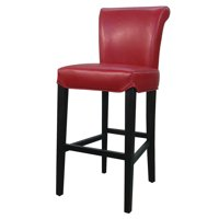 Bentley Bicast Leather Counter Stool, Multiple Colors