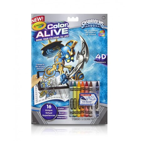 Crayola color alive skylanders for Crayola color alive coloring pages
