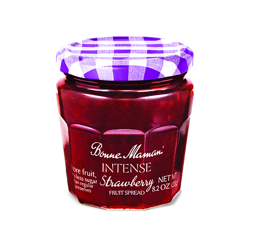 Bonne Maman Intense Fruit Spread Strawberry (Pack of 6)