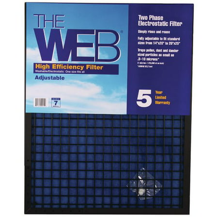 - WEB Products High Efficiency Adjustable Air Conditioner Air Filter