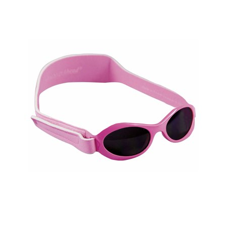 Pink Wrap Sunglasses for Baby and Toddler Girls by Sun Smarties