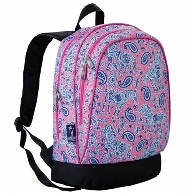 Wildkin 14310 Watercolor Ponies Pink Sidekick Backpack