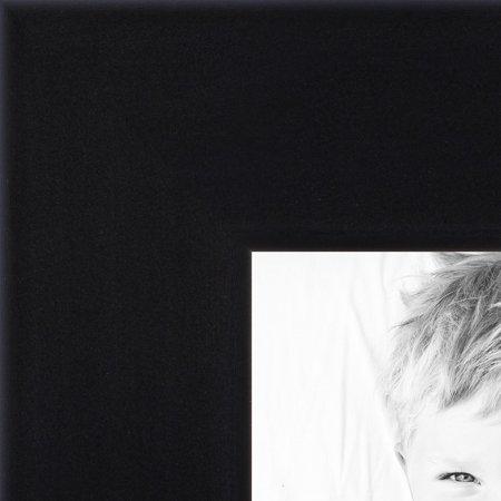 ArtToFrames Wood Picture FrameWOM10015  .75 Satin Black Stem - 1.125 Rabbet