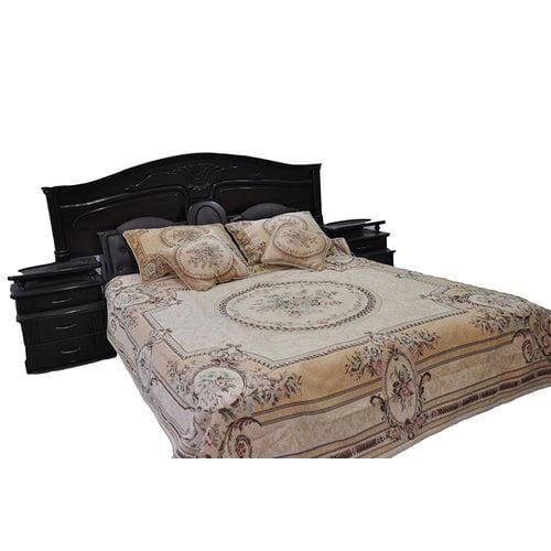 Tache Home Fashion Woven Desert Blossom Bedspread Set