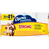 Charmin Essentials Strong 1-Ply Giant Toilet Paper Rolls 16 ct Pack