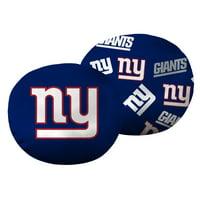 """NFL New York Giants 11"""" Cloud Pillow, 1 Each"""
