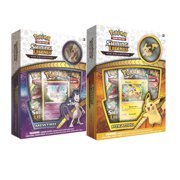 Pokemon Shining Legends Pikachu & Mewtwo 2 Box Bundle- Both Pikachu and Mewtwo Collection Pin Boxes