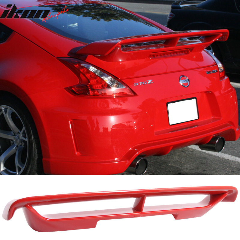 Fits 09-17 Nissan 370Z N Style Trunk Spoiler - ABS
