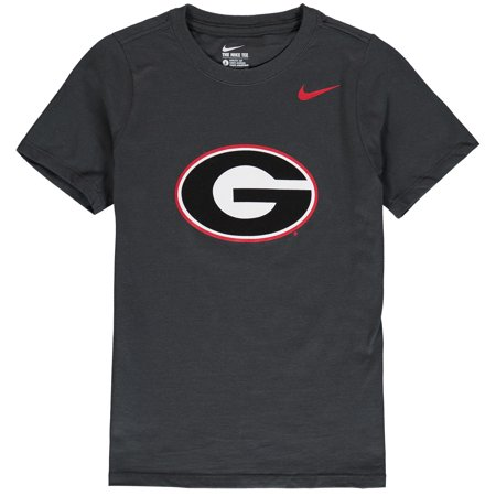 Georgia Bulldogs Nike Youth Cotton Logo T-Shirt - Anthracite