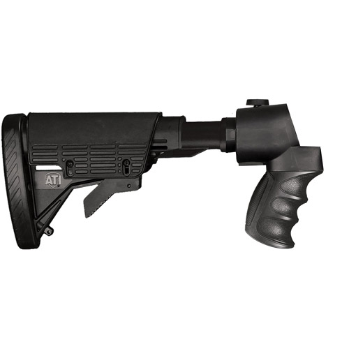 ATI Tactical Shotgun 6 Position Stock with Scorpion Buttpad Recoil Grip