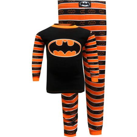 Batman Logo Halloween Cotton Pajama - Gymboree Halloween Pajamas
