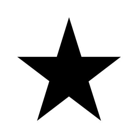 star shape stencil 12 inch 75 mil standard walmartcom