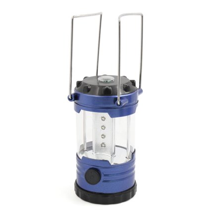 Camping Hiking Battery Powered Built-in Compass Light Night Tent Lamp Lantern