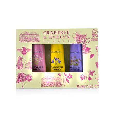 (Heritage Hand Therapy Set (1x Old World Jasmine, 1x Florentine Freesia, 1x Venitian Violet) 0.9oz)